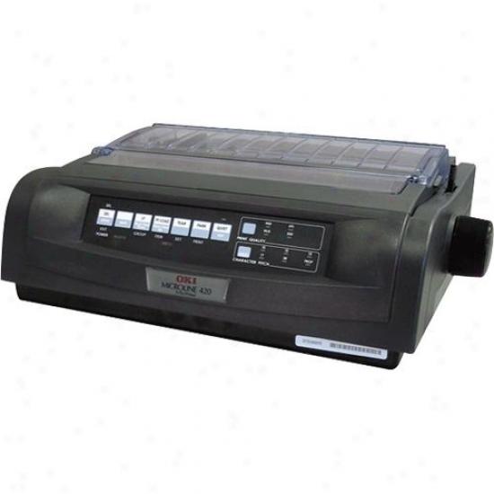 Okidata 9-pin Impact Printer - Black