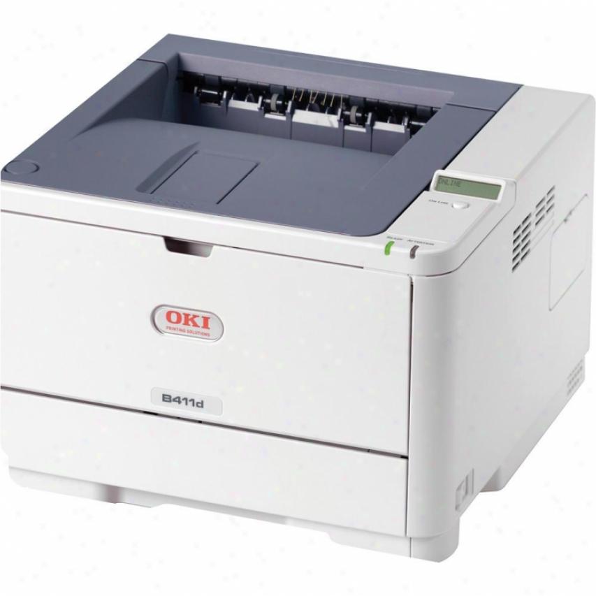 Okidata B411d Blk Dig Mono Printer