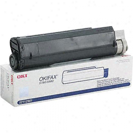 Okidata Black Laser Toner Cartridge