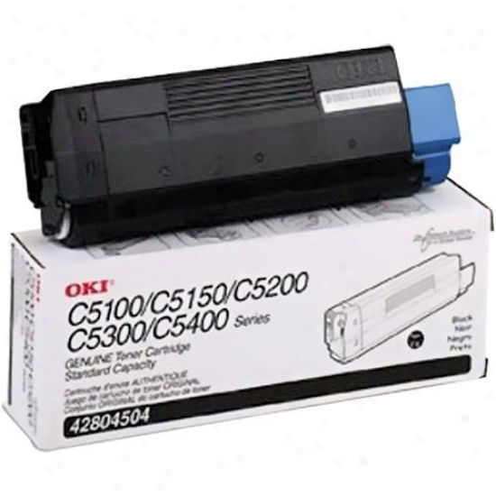 Okidata Black Toner Cartridge Type C6