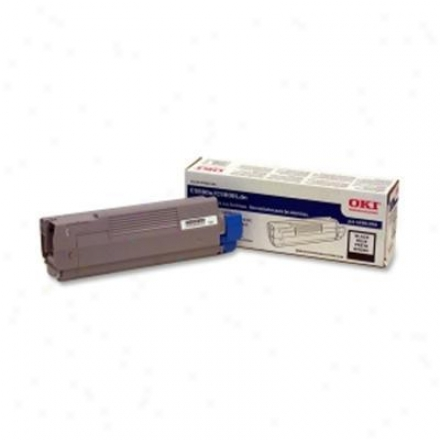 Okidata Black Toner Cartridge, Type C8