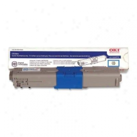 Okidatq C530 & Mc561 Cyan Toner Cart
