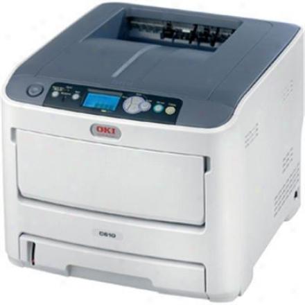 Okidata C610dn Digital Color Printer