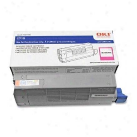 Okidata C710 Series Magenta Toner Cart