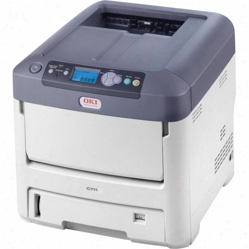 Okidata C711dtn Digital Color Printer