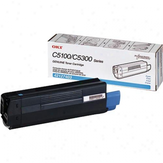 Okidata Cyan Toner Cartridge Type C6