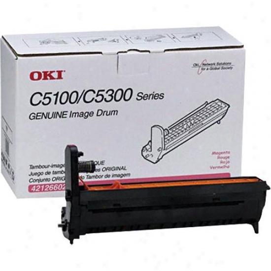 Okidata Magenta Image Drum C5100/c5300