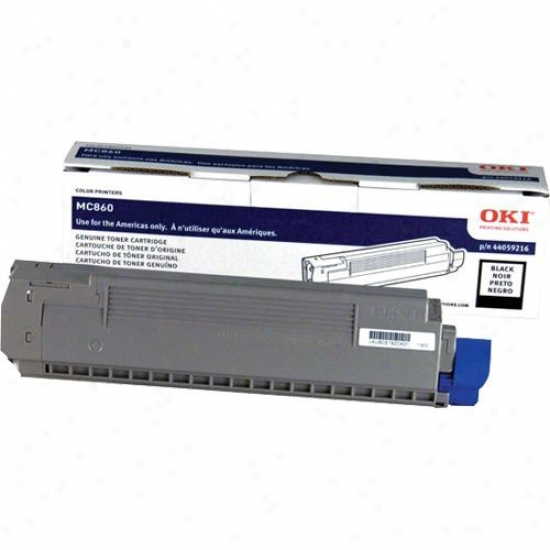 Okidata Mc860 Mfp Black Toner Cartridg