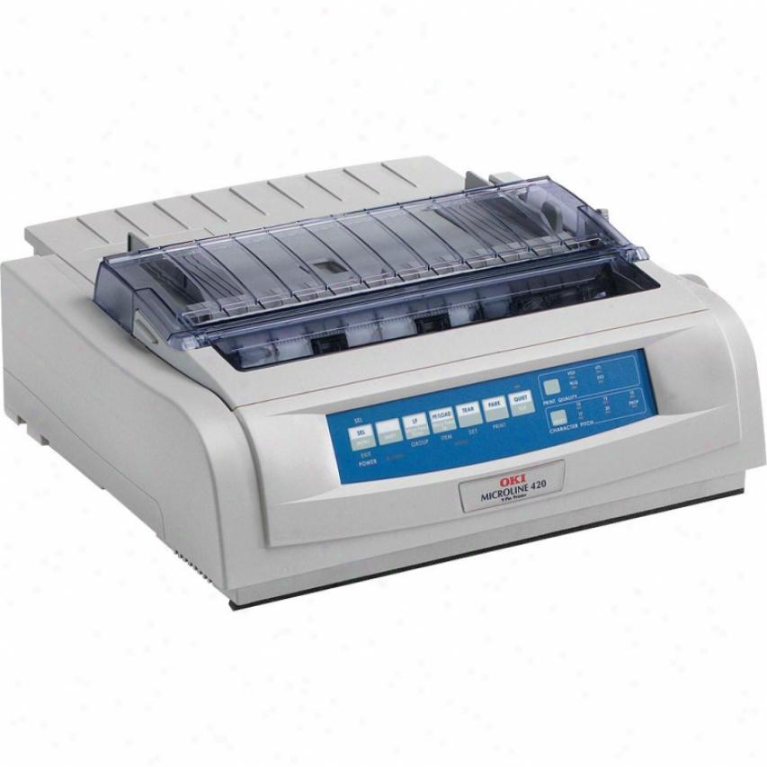 Okidata Microline Ml320 Turbo Variegate Matrjx Printer W/rs-232c