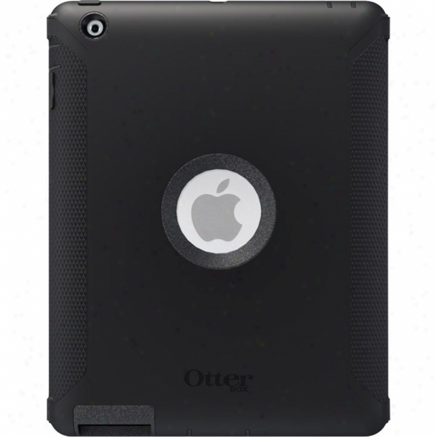 Otterbox Defender Hybrid Case For New Ipad 3 Ipadd2e4otr Black