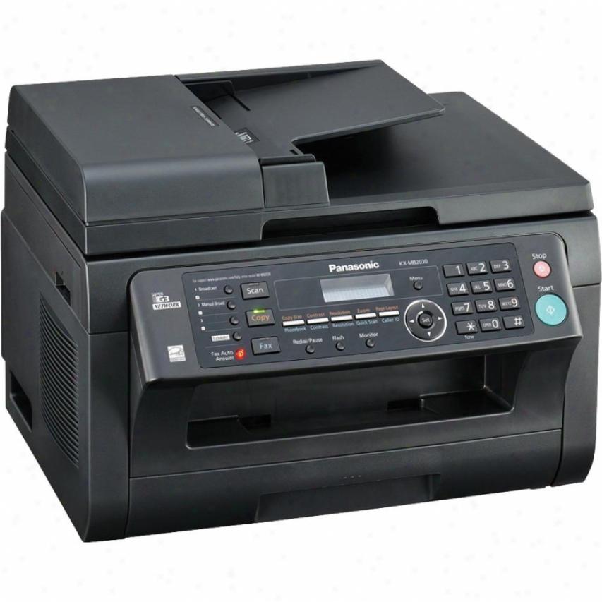 Panasonic Kx-mb2010 3-in-1 Moncohrome Laser Multifunction Printer