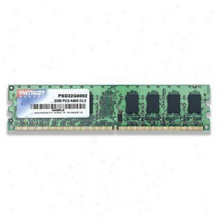 Patriot Memory 2gb 800mhz Ddr2