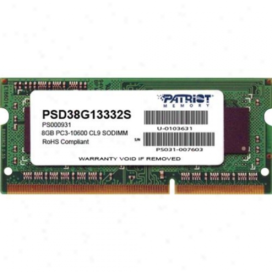 Patriot Fame Signature 8gb Ddr3 Sdram Meory Module