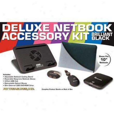 "Pc Treasures 10"" Deluxenetbook Accessory"
