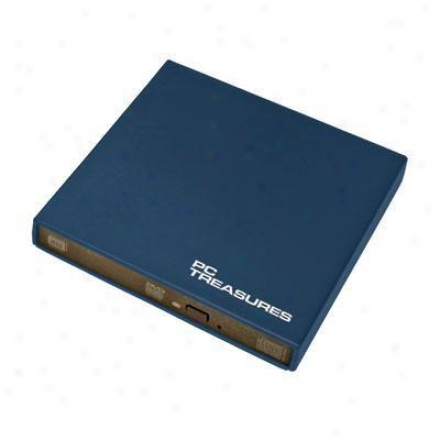 Pc Treasurws Ext Slim Usb Dvd/rwdrive Ships