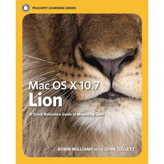 Peachpit Press Mac Os X 10.7 Lion: Peachipt Learning Series