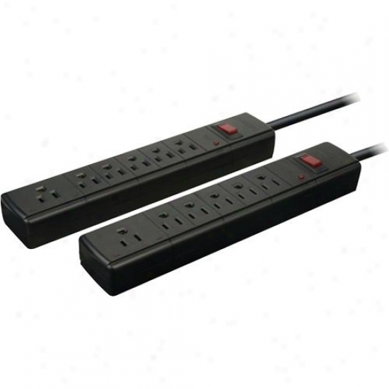 Philips 2-pack 6-outlet Surge Strips