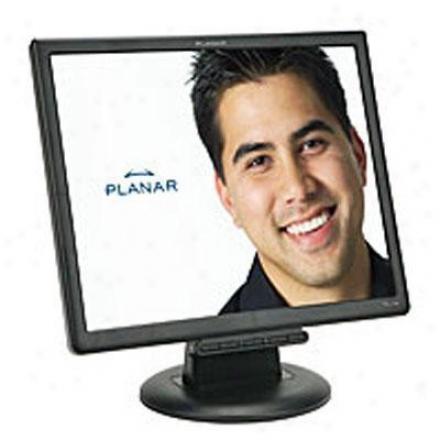 "Planar Systems 17"" Black Analog Lcd Monitor P1l700m"