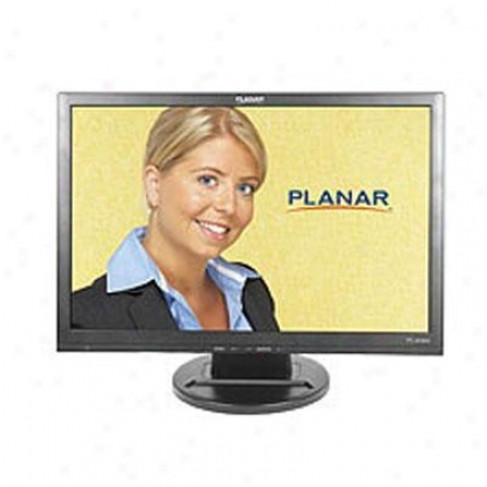 """Planar Systems 19"""" Black Wide Lcd Monnitor Pl1910mw"""