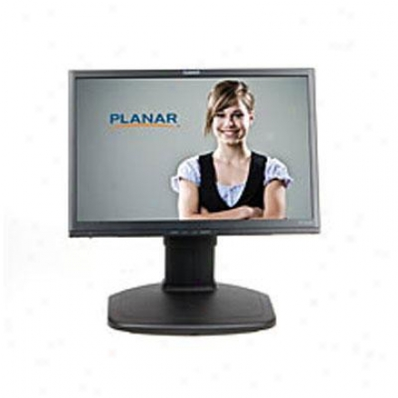 "Planar Systems 19"" Black Wide Lcd Monitor Pl1911mw"