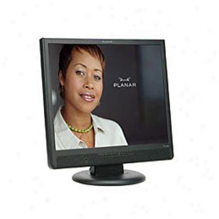 "Planar Systems 19"" Digital Lcd Monitor Black Pl1910m"