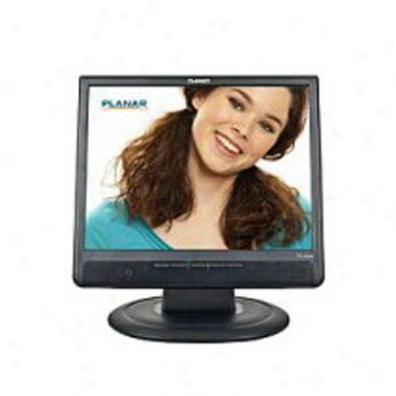 "Planar Systems Pl1500m - 15"" Black Lcd Monitor 997590500"