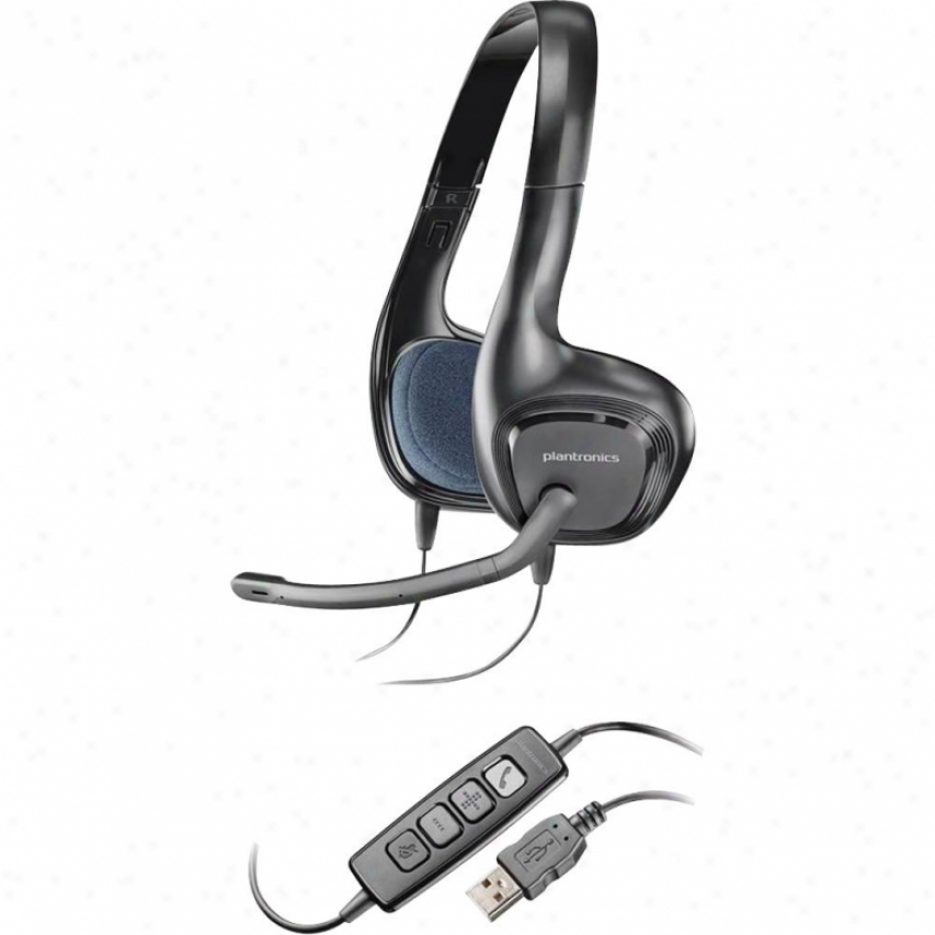 Plantronics 81960-11-audio 628 Usb Pc Head
