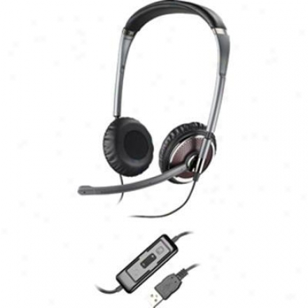Plantronics Blackwire C420-m Usb Foldable Computer Headset