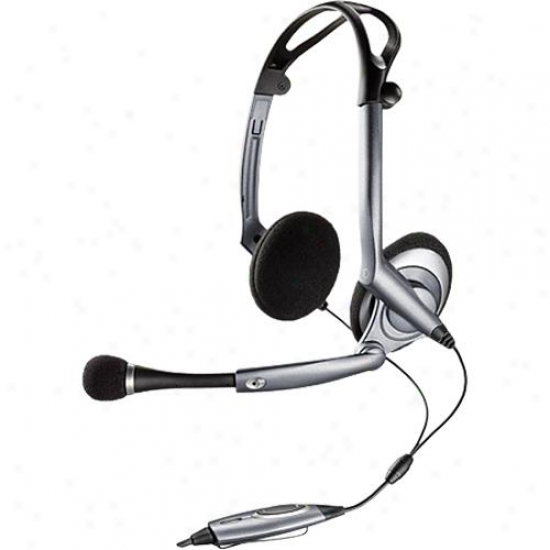 Plantronics Dsp-400 Digitally-enhanced Foldable Stereo Headset