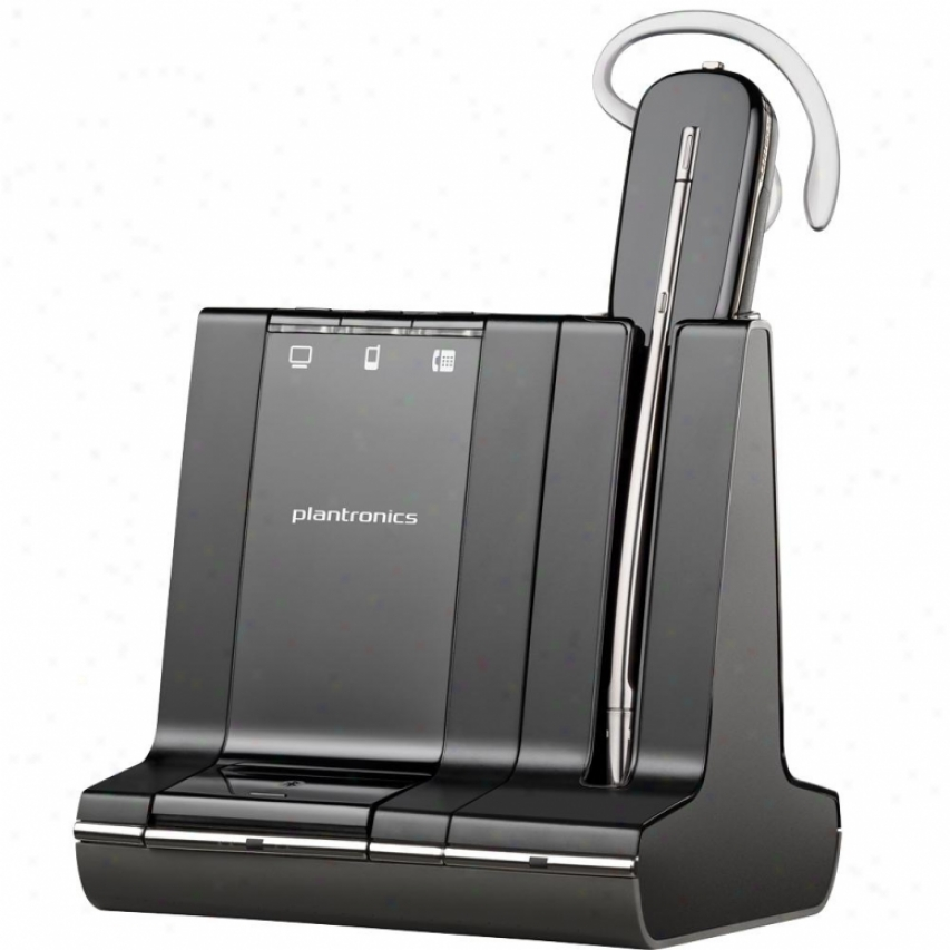 Plantronics Savi W745 Wireless Headset With Dect