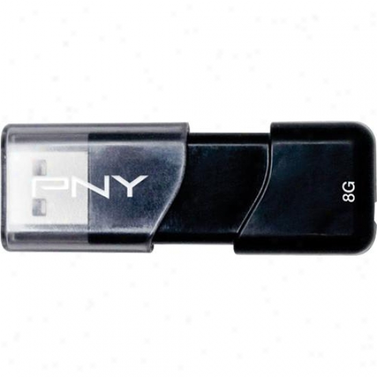 Pny Attache Iii 8gb Usb 2.0 Flash Drive