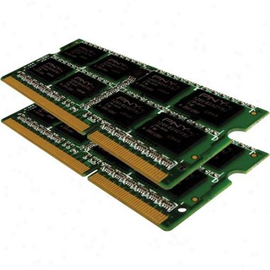 Pny Mn4096kd3-1066 Optima 4gb Pc3-8500 Ddr3 Notebook Sodimm