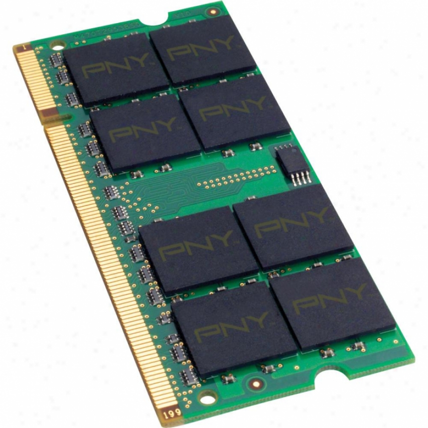 Pny Mn4096sd3-1333 4gb (1 X 4gb) 204-pin Ddr3 So-dimm Notebook Memory