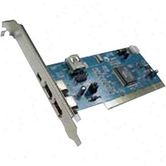 Ppa Int'l 1202 4 Port Iwee 1394 Pci Card - Pc And Mac