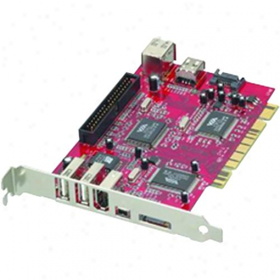 Ppa Int'l 1325 Pci Sata / Ide 2 Port Sata + 3 Port 1394a + 4 Entrance Usb 2.0 Contro