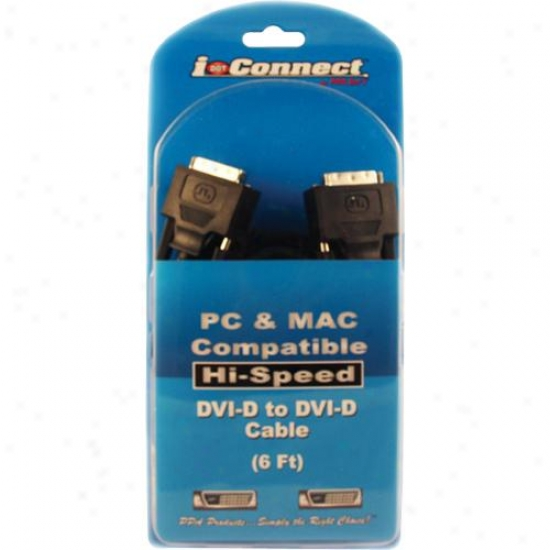 Ppa Int'l Dvi-d To Dvi-d Dual Link Cable - 6-foot