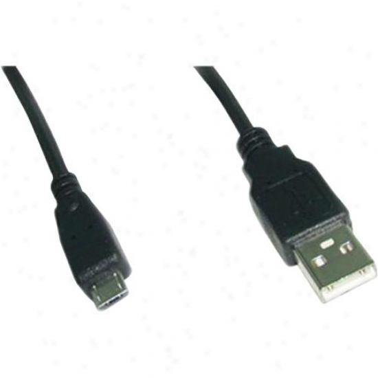 Ppa Int'l Usb 2.0 Am To Micro 5-pin Male Ca6le - 3 Feet