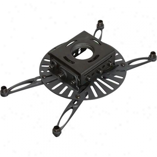 Premier Mounts Low-profile Mount For Projectors Up To 75 Lbs. - White