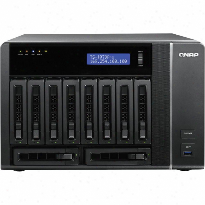 Qnap 10-bay Nas Tower