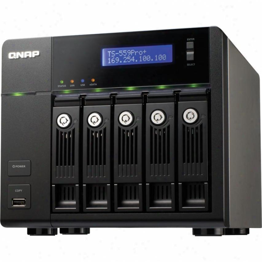 Qnap 5-bay Nas Tower Ts-559 Pro+