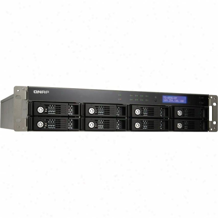 Qnap 8-bay Nas Rack Ts-859u-rp+ 2u