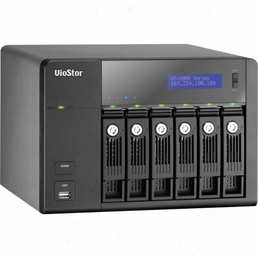 Qnap Vs-6012 Pro 6-bay Nvr Tower