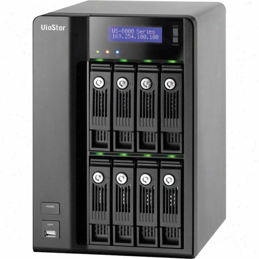 Qnap Vs-8040 Pro 8-bay Nvr Tower
