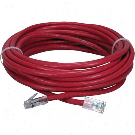 Qvs Cc712ex-25 25 Foot Category 5 Patch Cable - Red