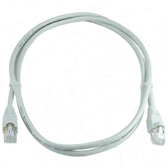 Qvs Cc715-10 Cat6 Cable - 10 Feet ( Gray )