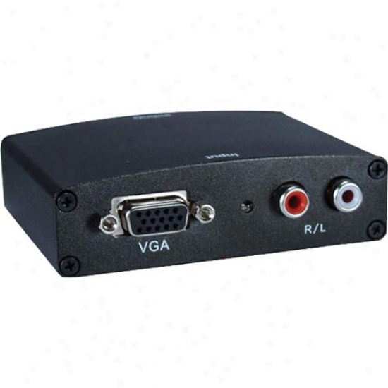 Qvs Hvga-as Vga Video/stereo Audio To Hdmi Digital Converter