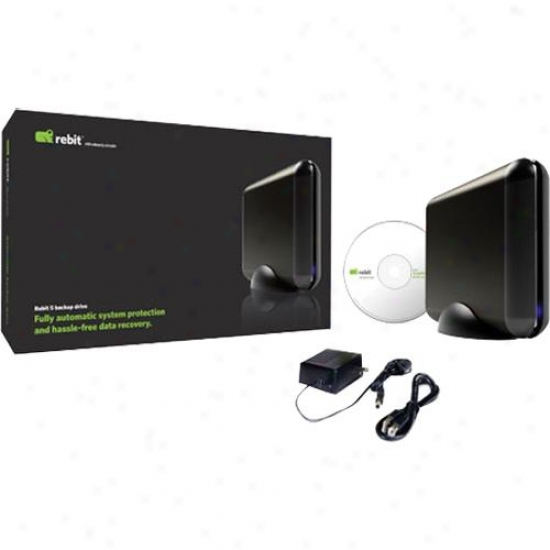 "Rebit 1tb 3.5"" Desktop Appliance Hard Drive With Rebit 5 Backup Software"