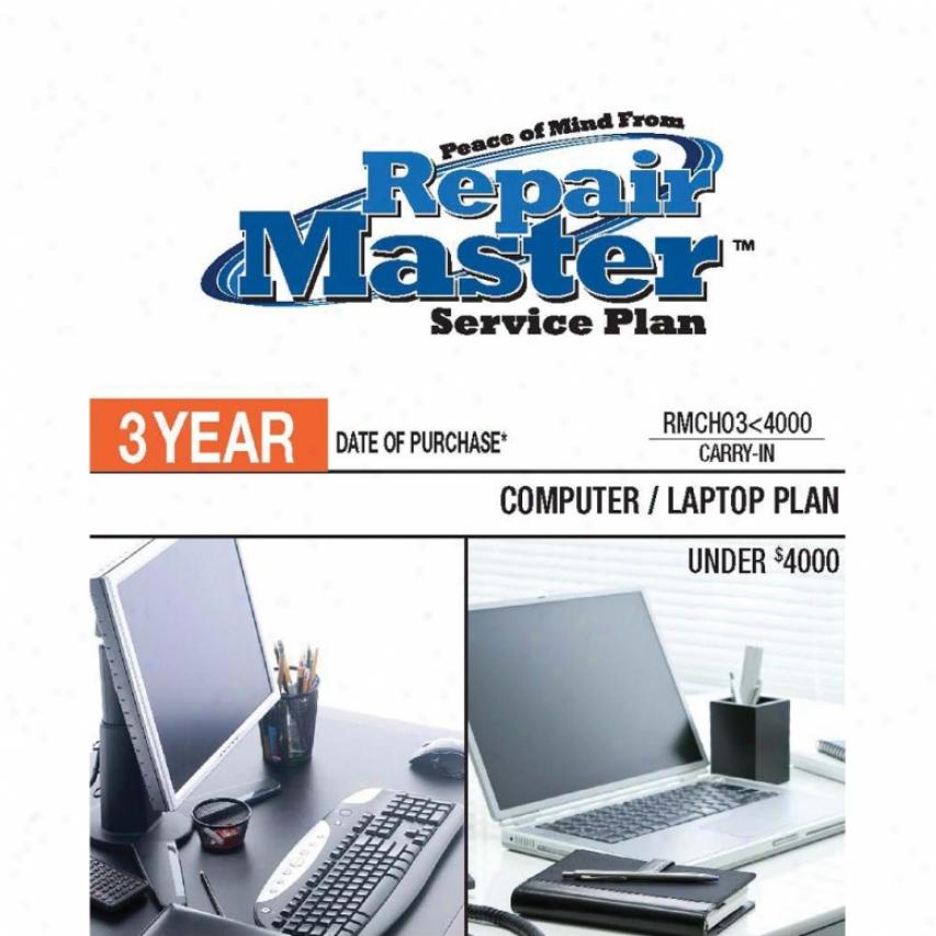 Repair Master Rjcho3u4000 3-year Computer & Tablet Warnty Plan
