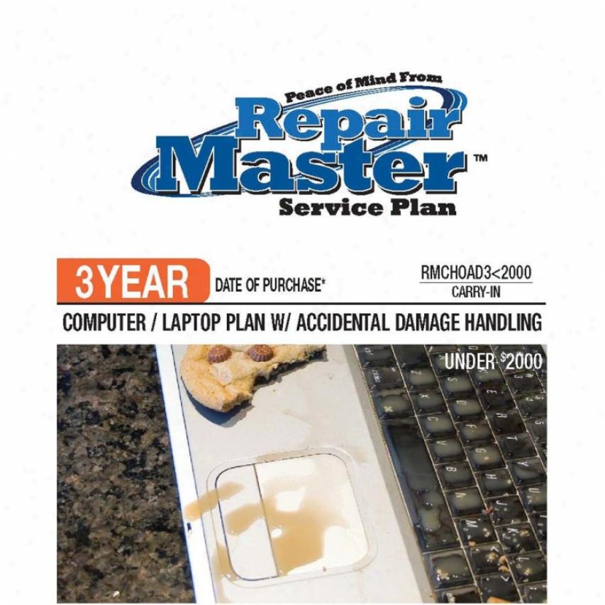 Repair Master Rmchoad3u2000 3-year Computer & Tablet Warranty Plan