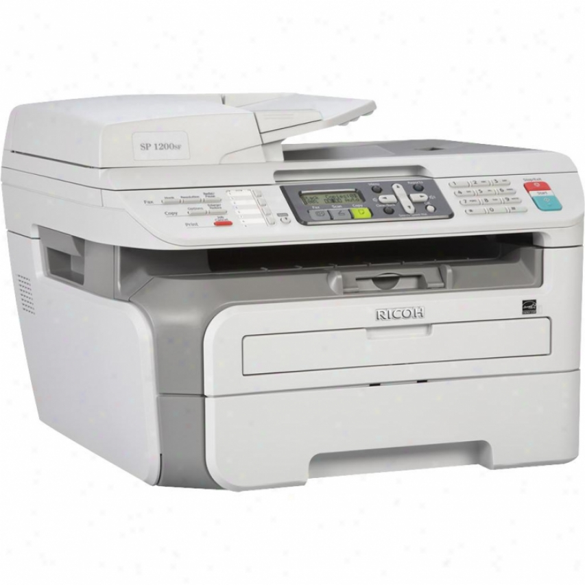 Ricoh Corp Aficio Sp 1200sf Laser Monochrome Multifunction Office Machine